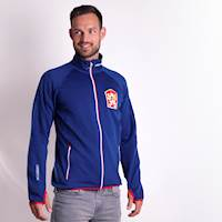 TIMUR mens retro CSSR sports jacket blue