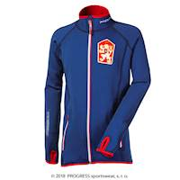 TIMURO kids retro CSSR sports jacket navy