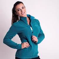 LEGENDA ladies fleece jacket petroleum