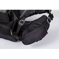 EXPLORER 45L middle size trekking bag black