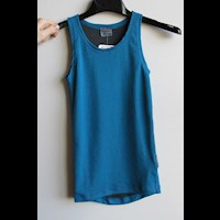 MS NBRD kids baselayer singlet blue