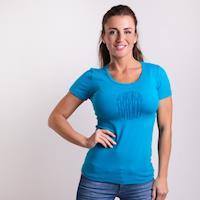 "SASA ""TRUNKS"" ladies T-shirt turquoise"