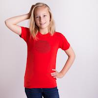 "FRODO ""FAWN"" kids bamboo T-shirt red"