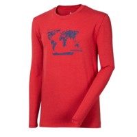 "VANDAL ""EARTH"" mens long sleeve T-shirt black"