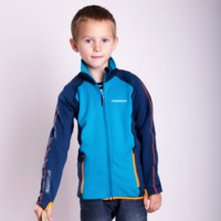 TOFFI JUNIOR full zip jacket blue/green sew.