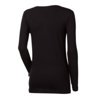 OS SONJA ladies bamboo long sleeve T-shirt black