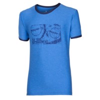 MAVERICK mens sports T-shirt Dk.blue melange