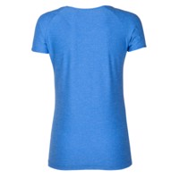 PACIFICA ladies short sleeve T-shirt Dk.blue melange