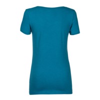 "SASA ""NO WIFI"" ladie's bamboo T-shirt petrol blue"