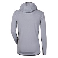 JOGGING MAN mens running jacket grey melange/black
