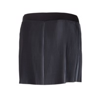 LAMELLA ladies sport pleated skirt black/white