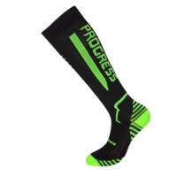 COMPRESS SOX compression knee socks black/neon green