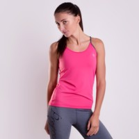 MIRADA ladies sports singlet salmon