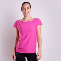 OMEGA ladies sports T-shirt Dk.blue melange