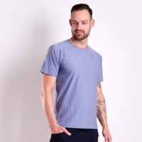PRIMITIV mens sports T-shirt Dk.blue melange