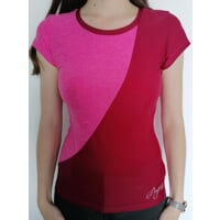 LYKA womens sports T-shirt pink melange/raspberry