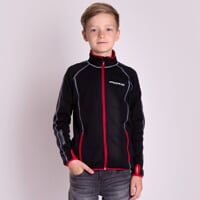 TOREZ JUNIOR boys full zip jacket black/red