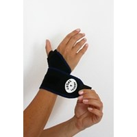 banding - wrist black/blue