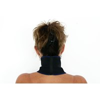 banding - back of the neck black/blue