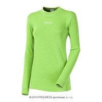 WS TDRZ ladies crew long sleeve T-shirt green
