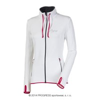 TULIPA ladies full zip jacket white
