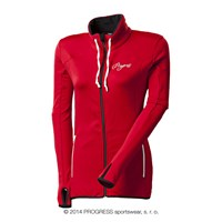 TULIPA ladies full zip jacket red
