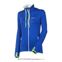 TULIPA ladies full zip jacket blue