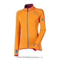 TISPA II ladies sports full zip jacket orange