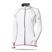 TISPA II ladies sports full zip jacket white/pink