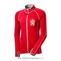TIMUR mens retro CSSR sports jacket red