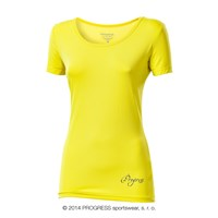 VIDALA ladies sports T-shirt yellow
