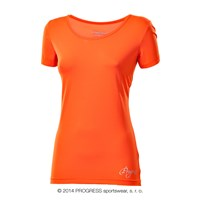 VIDALA ladies sports T-shirt Dk.orange
