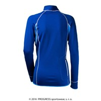VENTA ladies running full zip jacket Dk.blue/blue