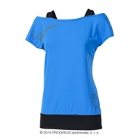 TAIKO ladies training T-shirt blue/black