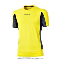 SPRINTER mens short sleeve Tee yellow/grey/black