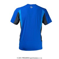 SPRINTER mens short sleeve Tee Dk.blue/grey/blue