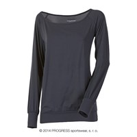 SELINA ladies long sleeve T-shirt black