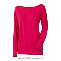 SELINA ladies long sleeve T-shirt pink