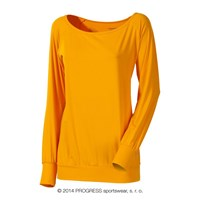 SELINA ladies long sleeve T-shirt orange