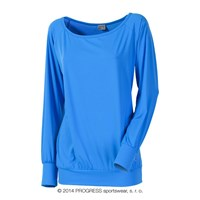 SELINA ladies long sleeve T-shirt blue