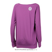 SELINA ladies long sleeve T-shirt purple