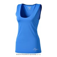 OLI ladies training singlet blue