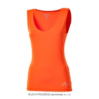 OLI ladies training singlet Dk.orange