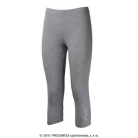 MONZA 3Q ladies bamboo 3/4 leggings grey melange