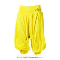 MILLA 3Q ladies training 3/4 pants yellow