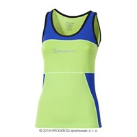 KALIMERA ladies tank top Lt.green/blue