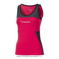 KALIMERA ladies tank top pink/grey