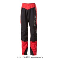 HORIZONTA ladies winter pants red/black