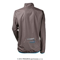 AERO RUNNING lightweight jacket Lt.grey/blue