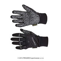 SNOWRIDE GLOVES sports winter gloves black